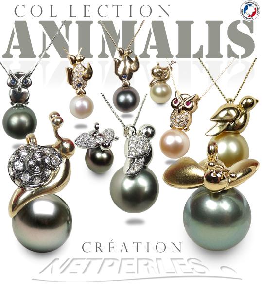 Collection ANIMALIS Bijoux de luxe