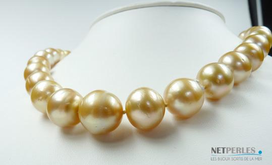 Perles dorées d'australie