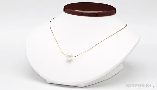 pendentif de perles de culture d'australie