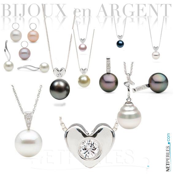 Bijoux en argent et perles de culture bijoux argent perles de culture argent rhodi - Comment nettoyer un bijou en argent ...