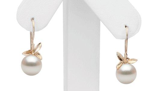 Boucles d'oreilles de perles de culture d'Eau Douce qualité doucehadama