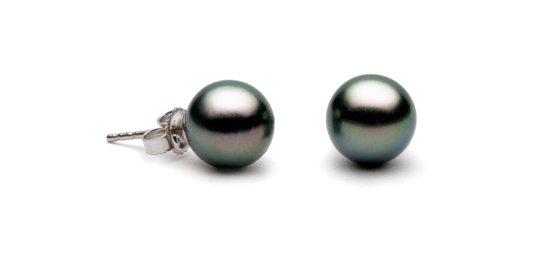 Boucles d'oreilles de perles de Tahiti