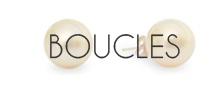 Boucles d'oreilles de perles d'australie - perles blanches argentées - perles dorées