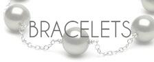 Bracelets de perles de tahiti, perles noires, NETPERLES