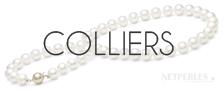 Colliers de perles de culture d'eau douce - NETPERLES