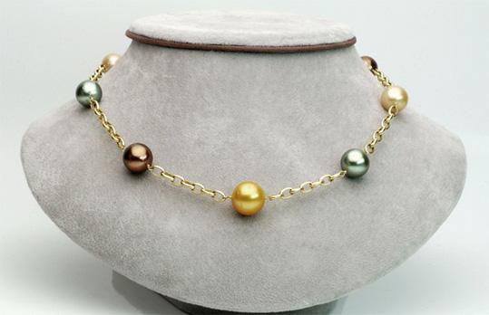 Collier de perles des mers du Sud