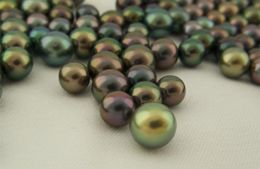 Couleur perles de<br /> Tahiti