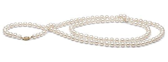 Sautoir 90 cm de perles d'eau douce