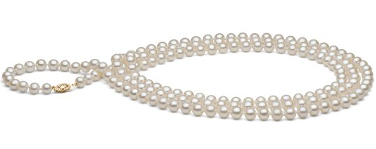 Sautoir de perles de culture d'eau douce
