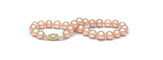 Bracelet de perles de culture d'eau douce peche