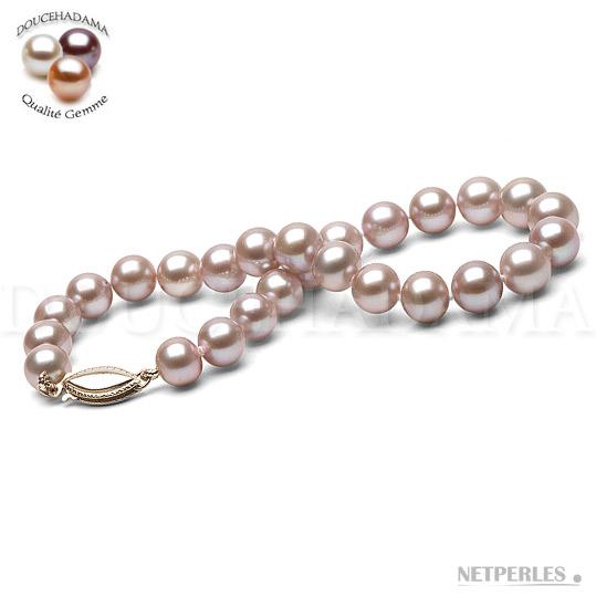Bracelet de perles de culture d'Eau Douce qualité DOUCEHADAMA de 6,5 à 7,0 mm