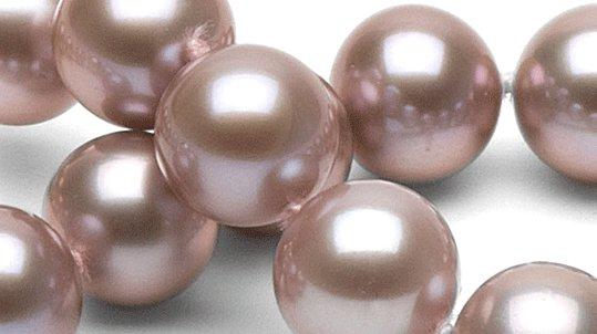 Perles d'eau douce Doucehadama couleur naturelle  lavande