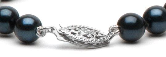Fermoir en or 14 carats pour collier ou bracelet de perles