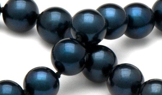 Perles de culture noires d'Akoya