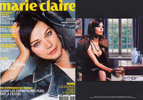 Netperles plébicité en Novembre 2002 par le magasine Marie Claire