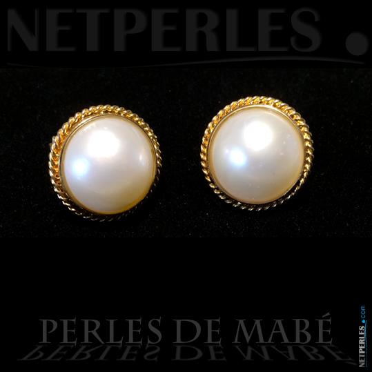 boucles perles mabé