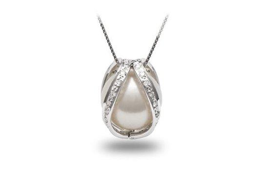 Pendentif Purete Perle Australie Blanche
