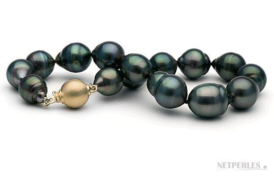 Bracelet de Perles de culture baroques de Tahiti