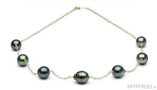 Collier de perles de Tahiti