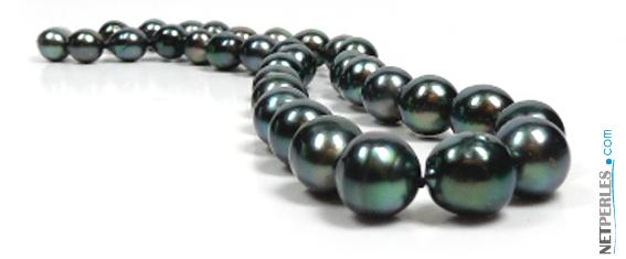 Collier de perles de tahiti baroque