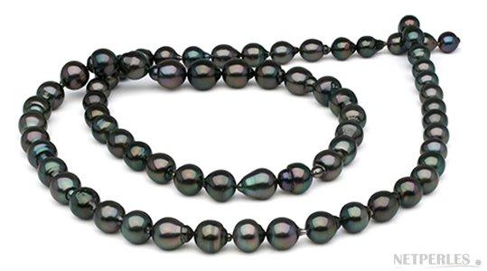 Sautoir de perles de Tahiti Baroques 90 cm
