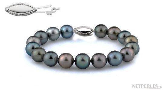 Bracelet de perles de Tahiti de qualité exceptionnelle AAA