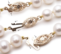 fermoir perle