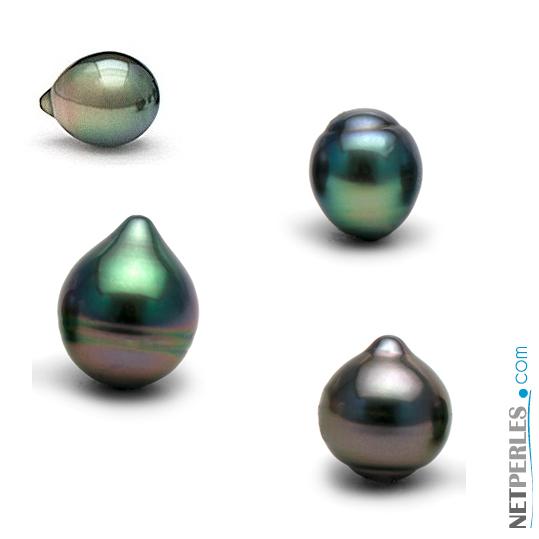 perle de tahiti forme de goutte