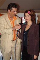 Jean Gautier et véronique mounier à l'antesse de cannes radio...