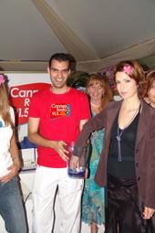 L'équipe Cannes Radio et Veronique Mounier en direct sur les ondes de Cannes Radios annoncent les noms des lauréats...