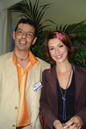 Jean Gautier et Véronique Mounier qui nous a fait le plaisir d'animer la soiree