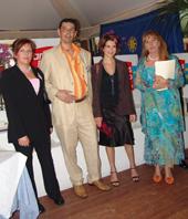Equipe NETPERLES et Veronique Mounier