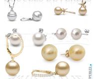 Perles couleur or des mers du Sud