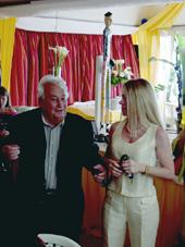 Paul Pacini et Helen Maguin de Cannes Radio
