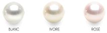 Les orients dans les perles akoya blanches
