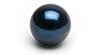 Perle akoya noire, couleur bleu nuit, perle chargee en emotion