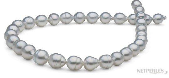 Collier 45 cm Perles baroques d'Australie