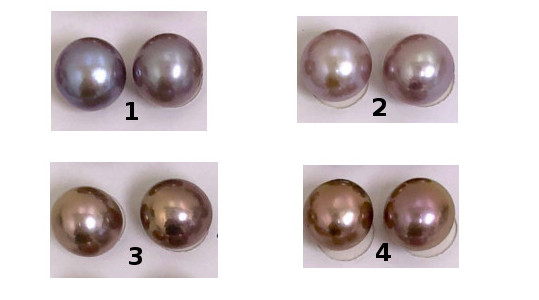 Choix des couleurs des perles Edison