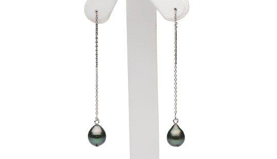 Perle de Tahiti baroques suspendues