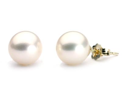 Boucles d'oreilles de perles d'eau douce - perles d'eau douce - perles blanches - perles lavandes - perles rose - perles noires - vraies perles pas chers
