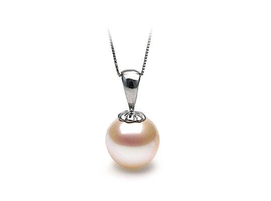 Pendentif Classique avec perle de culture d'eau douce