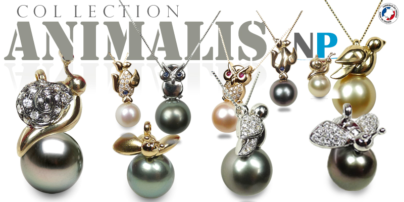 Collection Animalis, creation NETPERLES