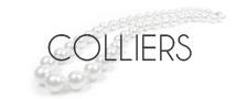 Colliers de perles d'Australie - Perles blanches Argentées - Perles Dorées - NETPERLES