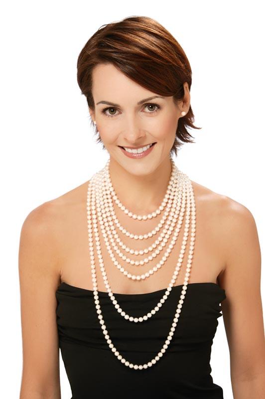 comment nouer collier perle