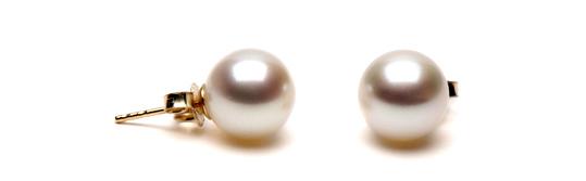 boucles d'oreilles de perles d'eau douce