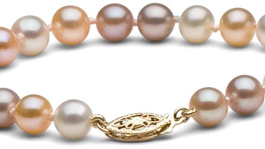 Fermoir en or 14 carats pour collier de perles