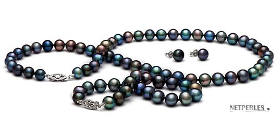 Perle de culture noires proposées par netperles