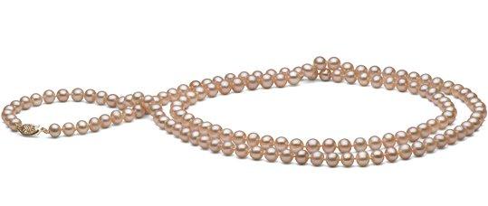 Sautoir de perles d'eau douce peche