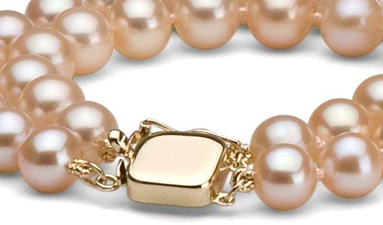 Fermaglio speciale per doppio filo di perle