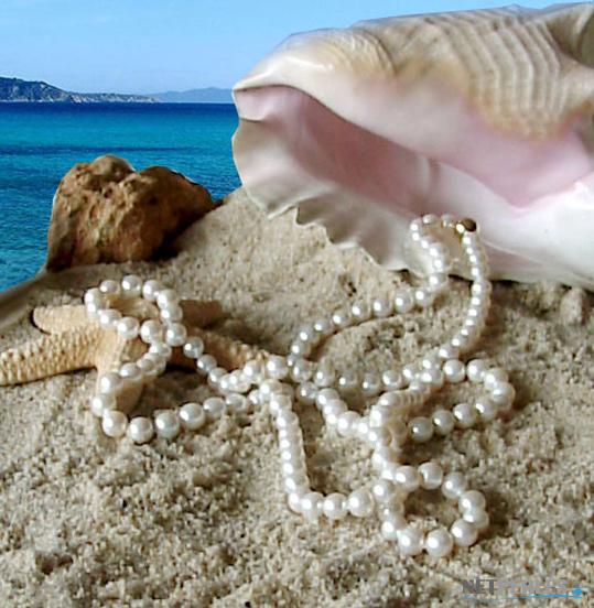 Long collier de perles blanches, sautoir moderne de perles d'eau douce de 9,5 à 10,5 mm longueur de 114 cm
